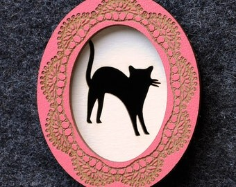 Design It Yourself Cameo Brooch - Oval