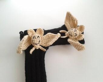 Last minute discount,Original Design Cute Bat  gloves,Halloweeen gloves, costume,  kids, children clothing, gift, birthday, boy, girl