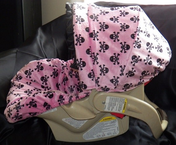 Girl Skull Car Seat Covers