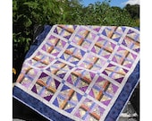 Merlot Quilt Pattern  - Sizes Crib to King -  EASY