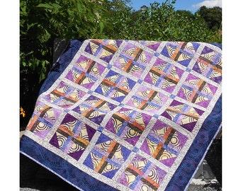 Merlot Quilt Pattern - PDF - Sizes Crib to King -  EASY