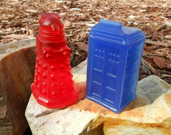 Doctor Who Soaps - Tardis Dalek Set of Two