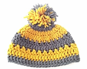 Crochet Beanie Hat Pattern - Instant Download