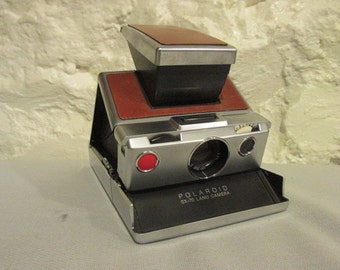 Original Polaroid SX-70 Land Camera Folding Instant Film Camera Tested and Working Use Impossible Project Films