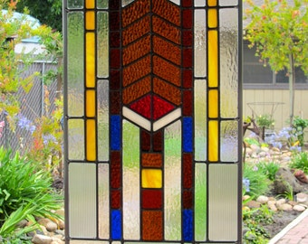 Mission Prairie Stained Glass Window