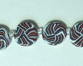 Hand Crafted Polymer Beads Jewelry Supplies, Polymer Beads in Five Colors