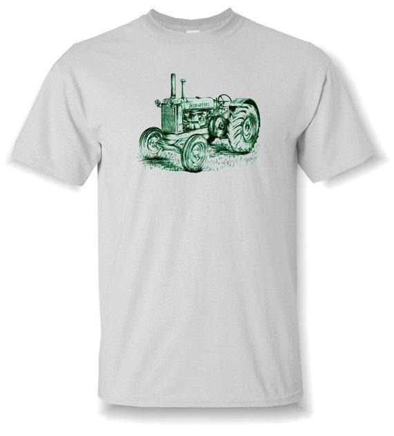 John Deere Tee Shirt Tractor Drawing T Shirt Small By
