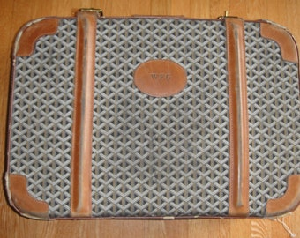 Authentic Vintage Goyard suitcase