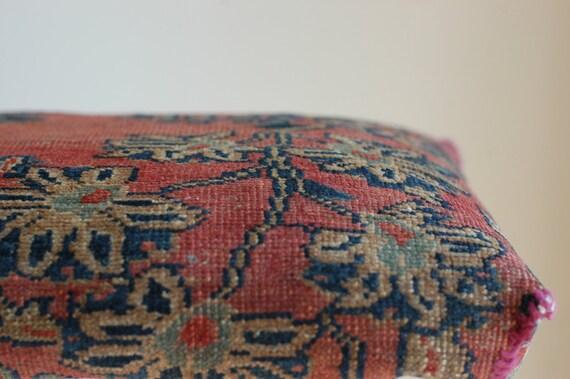 Vintage Kilim Foot Stool Ottoman