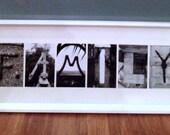 Letter Art ~ Framed Custom 4-6 Letter Word