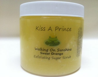 Walking On Sunshine Sugar Scrub 6 oz. Turn your shower into a Tropical Paradise