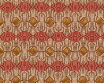 Cloud Cover in Chestnut, 1 Yard, Bungalow, Joel Dewberry, Quilting Cotton