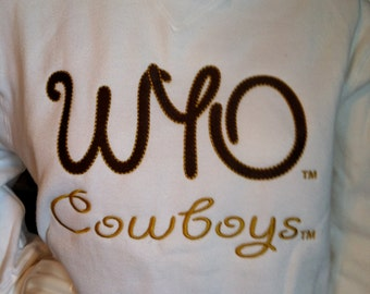 Officially Licensed WYO Cowboys shirt
