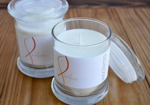 9 oz Soy Jar Candle - Unscented
