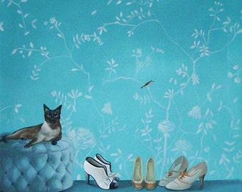 Still life,  Realism Painting, Fine Art Print,  Wall Art Wall Décor Wall Hanging