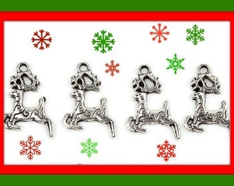 Reindeer Charms  LOW SHIPPING