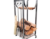 Enclume Wrought Iron FIreplace Stand and Tools Used a Few times, Very Clean and in Fine Condition