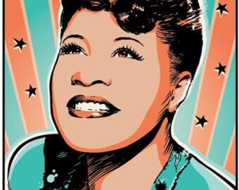 Ella Fitzgerald Etsy