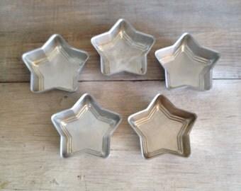 Aluminum Star Baking Pans Mini Baking Pan