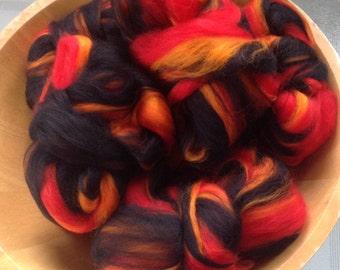 Custom Listing for tamsyn/Pam Hand-blended fibres for spinning/felting
