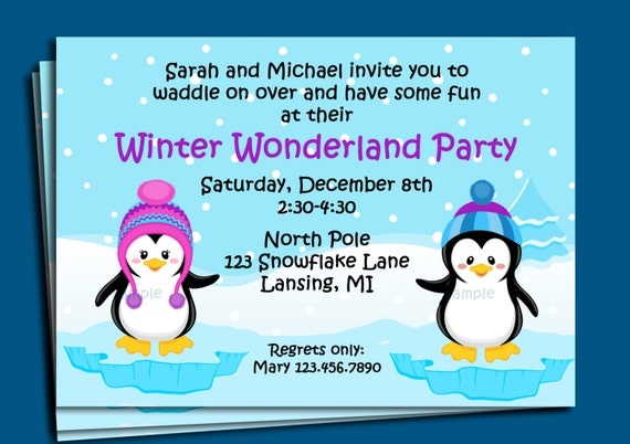 Sledding Party Invitations as Awesome Sample To Create Luxury Invitations Template