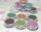 microbeads set 6 jars in your choice of 12 colors CUSTOMIZE YOUR OWN kawaii caviar kit pink blue black purple orange green copper brown