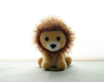 Lion - Amigurumi Animals PDF Crochet Pattern