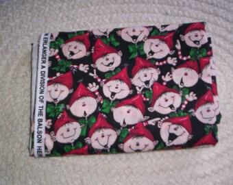 Snowman Christmas Fabric