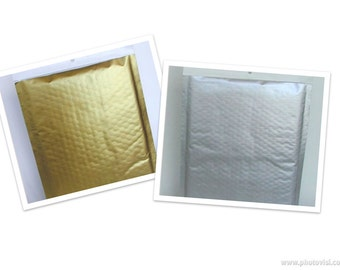 Silver Bubble Mailers Silver Package of Three by Royal Brites