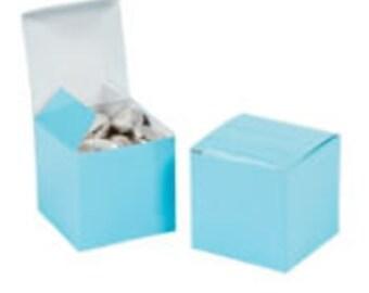 Blue Favor boxes- Sky Blue