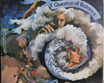 Vintage Moody Blues A Question of Balance LP Album