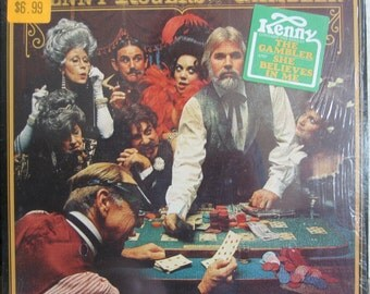 Vintage Kenny Rogers The Gambler LP Album