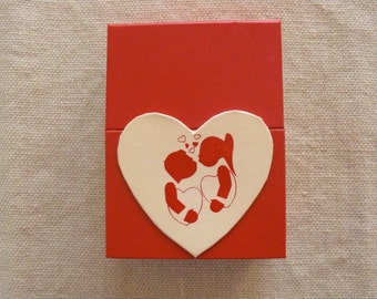 Valentine box from France