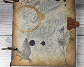 Student Steampunk Sketchbook Journal Diary Notebook