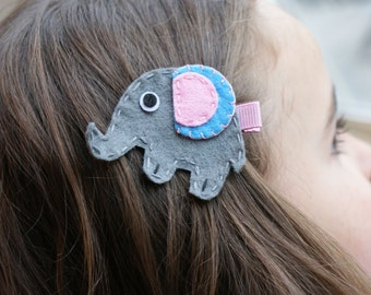 Boutique Elephant Hair Clip - Meet Miss Eliza