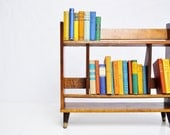 Mid-Century Wooden Book Case
