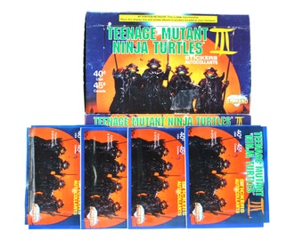 4 Teenage Mutant Ninja Turtle Album Sticker Packs