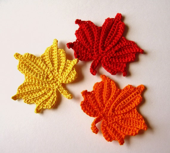 Free Crochet Pattern For Small Leaf ~ manet for .