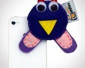 Shutter Buddies Paul Purple Owl for smart phone, iphone accessory, droid accessory, smart phone accessory, ipad accessory, tablet accessory