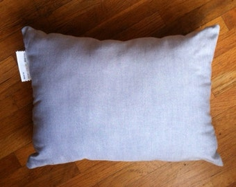 12 x 16  Cotton Chambray pillow or pillow insert for your favorite pillow cover