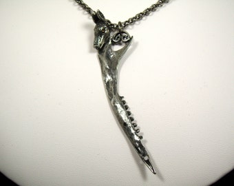 Armadillo Jaw Necklace