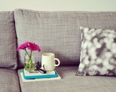 photographic polka dot cushion cover / Small Couture