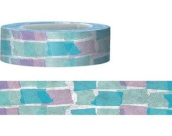 Blue Torn Fun Paper Tape (15M)