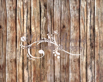 EXTRA LARGE BACKDROP 7'x7' Photography Backdrop El Pomar Barnwood Floor Drop