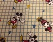 Disney Custom Vintage Mickey Fabric ... 2 different