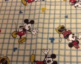 Disney Custom Vintage Mickey Fabric ... 2 different