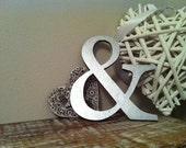 """Handpainted Wooden Wall Letter - '&' - New Times Roman - 8"""""""