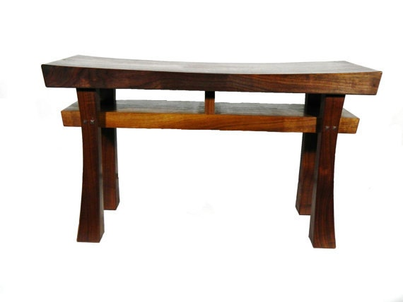 Asian Style Bench Size Large Made To Order Maple Oak