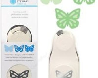 GARDEN BUTTERFLY LARGE Layering Craft Punch by Martha Stewart