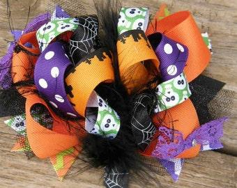 halloweenhair bow